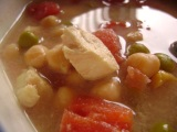 Simply Delicious Chicken and White Bean Soup