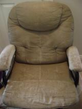 Recovering a Worn-Out Glider Chair and Ottoman