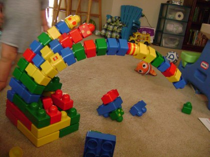 Lego tower of awesomeness!