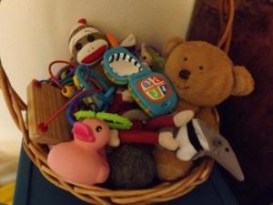 Wilona's basket.